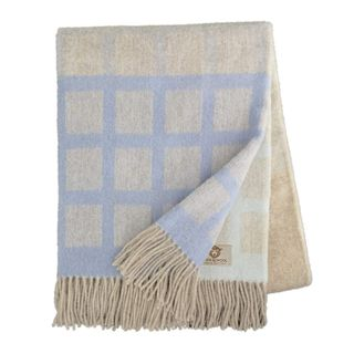 Linen & Cotton Wolldecke Thea