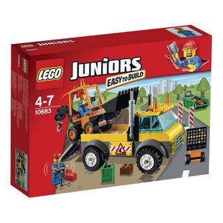 LEGO Juniors 10683 Straßenbau-Lastwagen