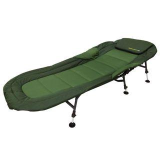 Angel Domäne Nightwalker Pro Comfort Bedchair 6 Bein Karpfenliege
