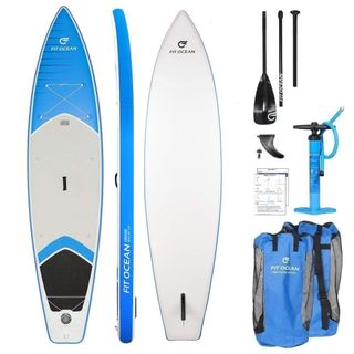 FIT OCEAN Cruise SUP aufblasbares Stand Up Paddle Board 15cm dick doppelwandig