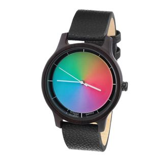 Rainbow Watch Cool Wood Black sandelwood Gamma Unisex Armbanduhr