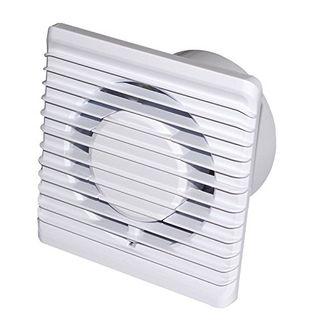 Badlüfter Wandventilator Ventilator Lüfter Ø 100 mm Timer Feuchtesensor