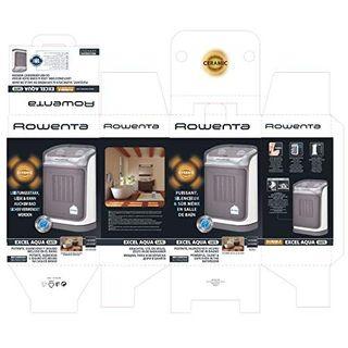 Rowenta SO9280F0 Excel Aqua Safe Keramik-Heizlüfter