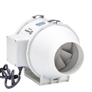 Hon&Guan 100mm Rohrventilator Mischdurchfluss Rohrlüfter