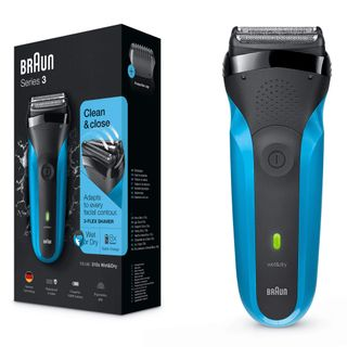 Braun Series 3 310s wiederaufladbarer Wet&Dry Elektrorasierer