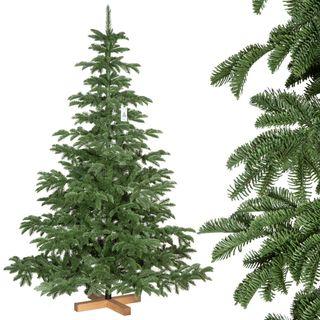 FairyTrees Weihnachtsbaum künstlich Alpentanne Premium