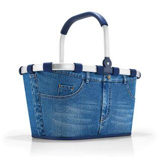 reisenthel carrybag jeans Einklaufskorb 48 x 29 x 28 cm
