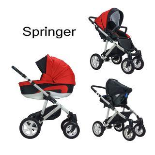 Springer CityStyle Kinderwagen 3 in 1 Kombikinderwagen
