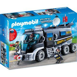 Playmobil 9360 SEK-Truck mit Licht und Sound Spiel