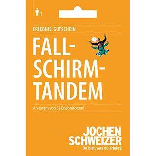 Jochen Schweizer Geschenkkarte: Fallschirm-Tandem Sprung