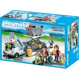 Playmobil 5262 Gangway mit Cargo-Anhänger