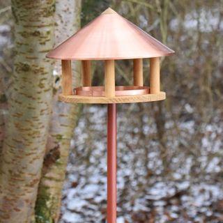 VOSS.garden Vogelhaus Kopenhagen Dänisches Design 40cm Durchmesser