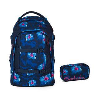 Satch Schulrucksack-Set 2-TLG Pack Waikiki Blue blau