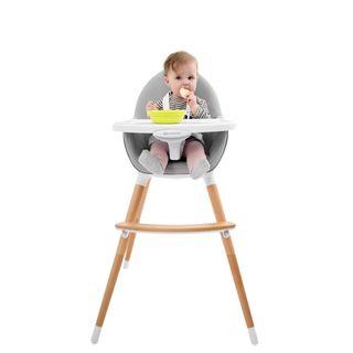 Kinderkraft Fini Kinderhochstuhl Treppenhochstuhl Babyhochstuhl Kombihochstuhl Hochstuhl