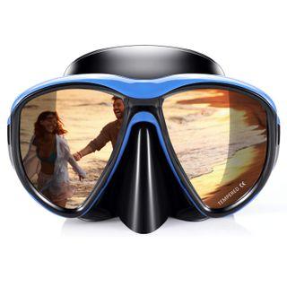 Kuyou Taucherbrille Schnorchel Set