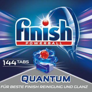 Finish Quantum Spülmaschinentabs für 3 Monate