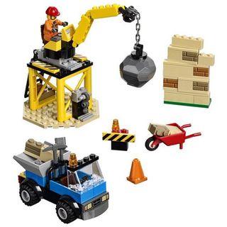 LEGO Juniors 10667 Starter Steinebox Baustelle