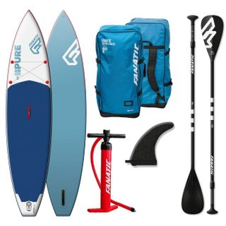 Fanatic Pure Air Touring inflatable SUP 11.6 Stand up Paddle Board