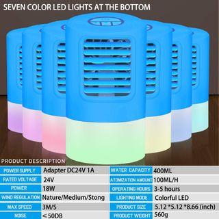 EEIEER Mini Klimaanlage 4in1 Tragbare Mobile Klimaanlage Luftkühler