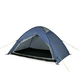 10T Campingzelt Easy 2 blaues Pop-Up Wurfzelt wasserdichtes