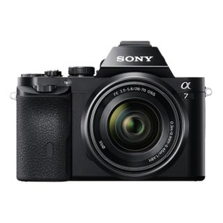 Sony Alpha 7 E-Mount Vollformat Digitalkamera ILCE-7 Kit