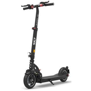 SXT Scooters BuddyV2-E E-Scooter Schwarz Lithium 36V 10.4Ah Straßenzulassung: