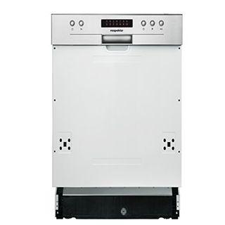 respekta Einbau Geschirrspüler Spülmaschine teilintegriert 45 cm Eekl