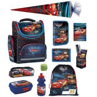 Familando Disney Cars Schulranzen-Set 16tlg