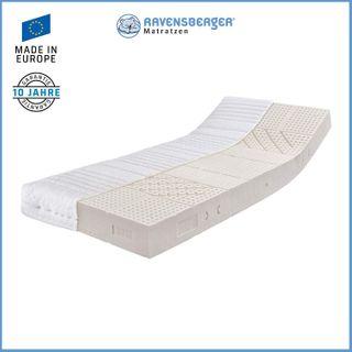 Ravensberger 7-Zonen NATUR Latexmatratze LATEXCO 85% Natur