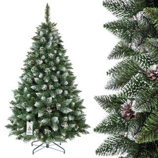 FairyTrees künstlicher Weihnachtsbaum Kiefer