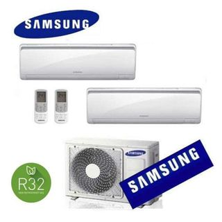 Samsung Klimaanlage Dual Split AJ050NCJ 9+12 Maldives R32 NEW 2018 9000+12000