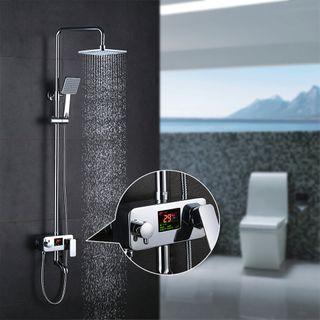 Homelody Duschsystem Drei-Funktionen-Duscharmatur