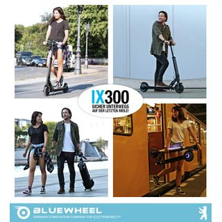 E-Roller IX300 von Bluewheel Marktneuheit