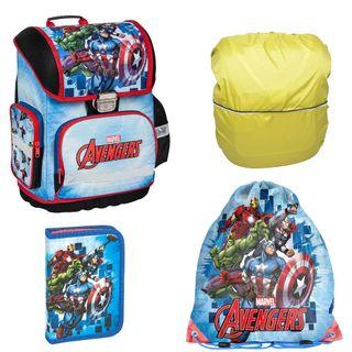 Avengers Marvel Schulranzen Set 4 TLG