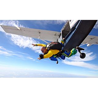 Fun4You Erlebnisgeschenke Tandem Fallschirmsprung
