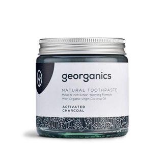 Georganics natürlich biologische Kokosölzahnpasta- Aktivkohle 120