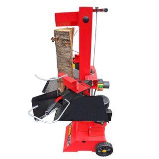 CROSSFER Holzspalter LS8T-230V PRO/Hydraulikspalter 8 Tonnen Spaltkraft