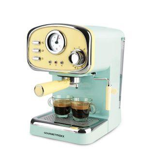 GOURMETmaxx Elektrische Siebträger Espressomaschine