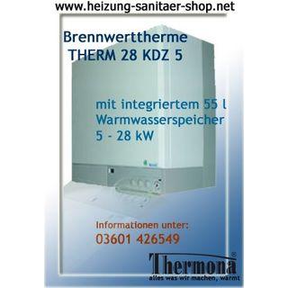 Gastherme Brennwerttherme Gaskombitherme 28 KDZ 5