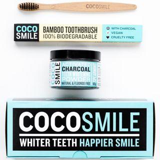 Natürliche Zahnaufhellung Premium-Kokosnuss Aktivkohle