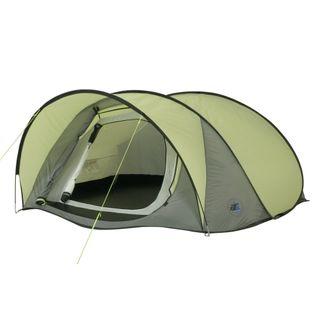 10T Campingzelt Maxi 3 Pop-Up Wurfzelt wasserdichtes 3 mann
