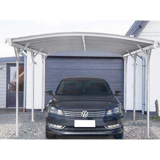 Home Deluxe Design Carport weiß