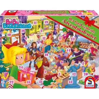 Weihnachtskalender 2019 Mädchen.Schmidt Spiele 40590 Bibi Blocksberg Adventskalender 2018 Im