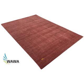 WAWA TEPPICHE Handgewebter Gabbeh Teppich in 5 Farben 4 Größen 100% Schurwolle Handloom