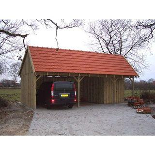 Carport Satteldach SPA 600 x 800cm Bausatz