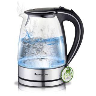 TurboTronic Glas Wasserkocher 1,7 Liter