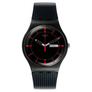 Swatch Herren Analog Quarz Uhr SUOB714