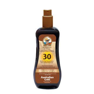 Australian Gold Sonnenschutz Spray with Bronzer SPF 30 plus