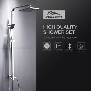 Auralum Moderde Design Duschset Duscharmatur Duschsystem