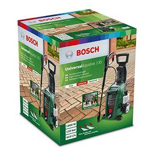 Bosch Hochdruckreiniger UniversalAquatak 135 (1900 Watt, Druck: 135 bar, max. Fördermenge: 410 l/h, im Karton)